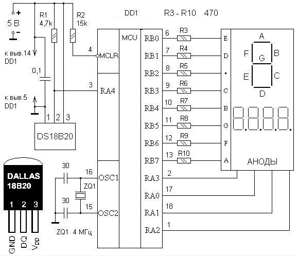 Для прошивки микроконтроллера