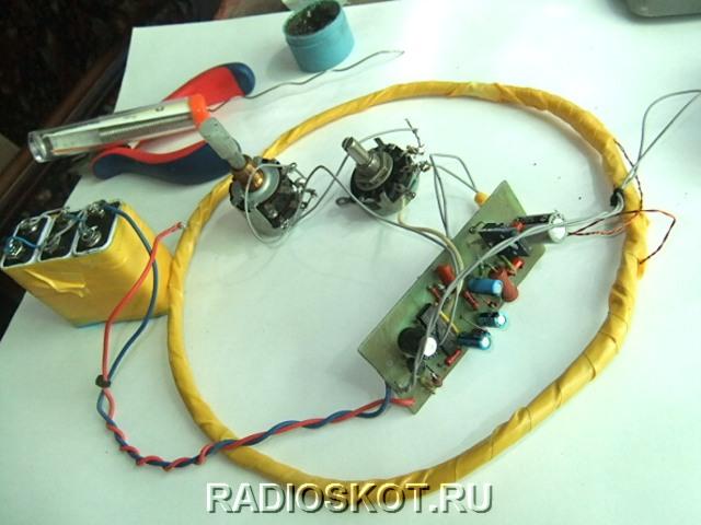 Параметры металлоискателя: